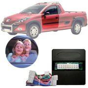 Módulo de Vidro Elétrico Sensorizado Peugeot Hoggar 207 206 2010 11 12 13 14 Com Vidros Elétricos nas Portas Dianteiras LVX 8 AZ
