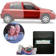 Módulo de Vidro Elétrico Sensorizado Renault Clio 2000 Até 2015 Com Vidros Elétricos nas Portas Dianteiras e Botão no Console LVX 8 BP