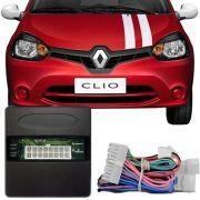 Módulo de Vidro Sensorizado Renault Clio Dianteiras 2 Portas Botão Console LVX 8 BP
