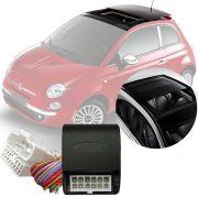 Módulo Fechamento Teto Solar Automatizado Tury Fiat 500 2012 13 14 15 16 17 Com Sistema de Teto Solar Orignal LVX 5 A