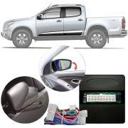 Módulo Rebatimento e Tiltdown de Retrovisor Elétrico Chevrolet S10 LTZ Diesel 2012 13 14 15 PARK 3.8.8 J