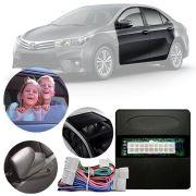 Módulo Tiltdown e Rebatimento de Retrovisor e Módulo de Vidro Toyota Corolla Xei e Dynamic 2015 16 17 PARK 5.4.3 CT