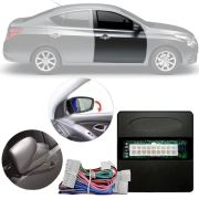 Módulo Tiltdown e Rebatimento de Retrovisor Elétrico Nissan Sentra 2014 15 16 17 18 PARK 3.3.7 M