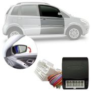 Módulo Tiltdown Inclina Espelho Retrovisor Elétrico Fiat Idea 2005 06 07 08 09 10 11 12 13 14 PARK 1.2.6 AQ