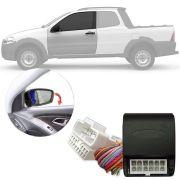 Módulo Tiltdown Inclina Espelho Retrovisor Elétrico Fiat Strada 2005 06 07 08 09 10 11 Fase 2 PARK 1.2.6 AQ