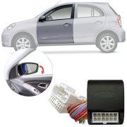 Módulo Tiltdown Inclina Retrovisor Elétrico Nissan March 2011 em Diante PARK 1.3.8 U