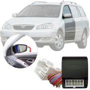 Módulo Tiltdown Inclina Retrovisor Elétrico Toyota Corolla Fielder 2002 03 04 05 06 07 08 PARK 1.2.6 AD