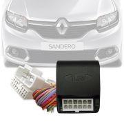 Módulo Tiltdown Tury Inclina Retrovisor Renault Logan e Sandero 2014 Em Diante PARK 1.3.7 AP