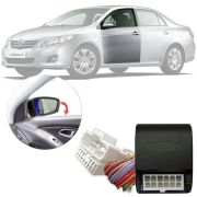 Módulo Tiltown com Rebatimento de Retrovisor Elétrico e Fechamento dos Vidros Toyota Corolla 2009 10 11 12 13 14 GLI | ALTIS | SEG | XEI | XRS PARK 5.4.3 AG
