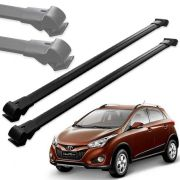 Par Travessa Teto Alumínio Hyundai Hb20x 2012 Até 2018