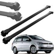 Par Travessa Teto Alumínio Volkswagen Spacefox 2011 Em Diante