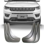 Apara Barro Flap Lameiro Jeep Compass 2017 18 19 Tg Poli 4 Peças