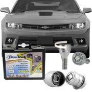Trava Antifurto Anti Roubo de Roda Parafuso Porca Farad Starlock Chevrolet Camaro 2011 em Diante Com Mais de 10.000 Segredos DS/E