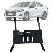 Protetor de Carter Completo Chevrolet Onix Plus Premier 2020 Em Diante Com Parafusos Fixadores