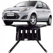 Protetor de Carter Completo Ford New Fiesta Hatch Sedan 2003 Até 2013 Com Parafusos Fixadores