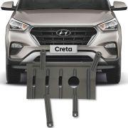 Protetor de carter Completo Hyundai Creta 2017 Em Diante C/ Parafusos Fixadores