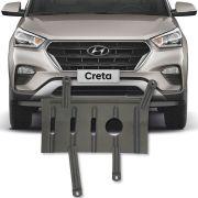 Protetor de carter Completo Hyundai Creta 2017 18 19 20 21