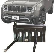 Protetor de Carter Completo Jeep Renegade 2019 20 Com Parafusos Fixadores