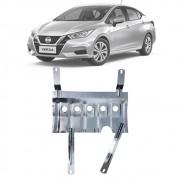 Protetor de Carter Completo Nissan Versa 2021 Em Diante Com Parafusos Fixadores