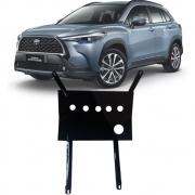 Protetor de Carter Completo Toyota Corolla Cross 2021 22 Com Parafusos Fixadores
