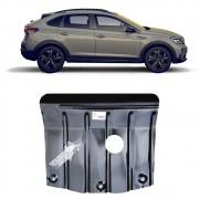 Protetor de Carter Completo Volkswagen Nivus 2020 21 Com Parafusos Fixadores