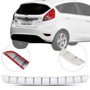 Protetor de Porta Malas Cromado Flash Ford New Fiesta 2013 14 15 16 17 18 19