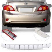 Protetor de Porta Malas Cromado Flash Toyota Corolla 2009 10 11 12 13 14