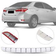 Protetor de Porta Malas Cromado Flash Toyota Corolla 2015 16 17 18 19