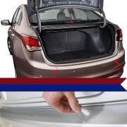Protetor Porta Malas Resinado Incolor Hyundai Hb20s 2012 13 14 15 16 17  18 19 20