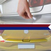 Protetor Porta Malas Resinado Incolor Volkswagen Novo Polo 2018 Em Diante