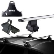 Rack de Teto Thule Jeep Renegade 2016 17 18 19 Wingbar Evo 135 + Rapid System 754 + Kit 1788
