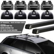 Rack Travessa Thule Hyundai Creta 2017 /... SquareBar 969