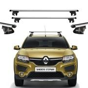 Rack Thule Travessa de Teto Smart 794 Renault Sandero Stepway 2008 Em Diante