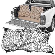 Rede Elástica de Caçamba Para Contenção de Bagagem CargoFix Big CargoNet Universal Chevrolet S-10 S10