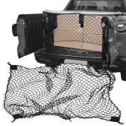 Rede Elástica de Caçamba Para Contenção de Bagagem CargoFix Big CargoNet Universal Fiat Toro