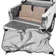 Rede Elástica de Caçamba Para Contenção de Bagagem CargoFix Big CargoNet Universal Ford Ranger