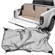 Rede Elástica de Caçamba Para Contenção de Bagagem CargoFix Big CargoNet Universal Nissan Frontier