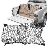 Rede Elástica de Caçamba Para Contenção de Bagagem CargoFix Big CargoNet Universal Toyota Hilux