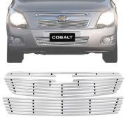Sobre Grade Chevrolet Cobalt 2010 A 2015 Cromada Aço Inox