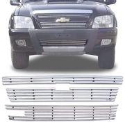 Sobre Grade Chevrolet S-10 S10 4x4 2009 A 2011 Com Gancho Cromada Aço Inox