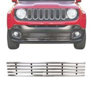 Sobre Grade Jeep Renegade 4x2 2015 A 2018 Cromada Aço Inox Elite