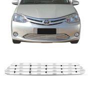 Sobre Grade Toyota Etios 2013 A 2016 Cromada Aço Inox