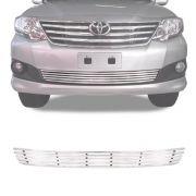 Sobre Grade Toyota Hilux Sw4 2012 A 2015 Cromado Aço Inox