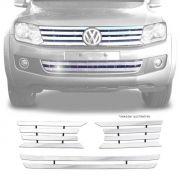 Sobre Grade Volkswagen Amarok 2010 A 2016 Cromada Aço Inox Max