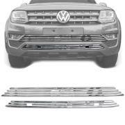 Sobre Grade Volkswagen Amarok 2017 2018 Cromada Aço Inox Elite