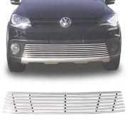 Sobre Grade Volkswagen Crossfox Spacefox 2011 A 2014 Cromada Aço Inox Elite