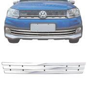 Sobre Grade Volkswagen Saveiro Cross 2017 2018 Cromada Aço Inox Max