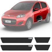 Soleira Resinada Mini Premium Fiat Palio 2012 13 14 15 16 17 18 19 6 Peças