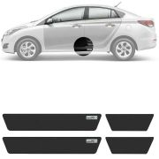 Soleira Resinada Mini Premium Hyundai Hb20 Sedan 2012 13 14 15 16 17 18 19 6 Peças