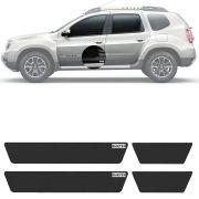 Soleira Resinada Mini Premium Renault Duster 2011 12 13 14 15 16 17 18 19 6 Peças
